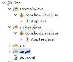 Maven 主要用处一:相同的项目结构