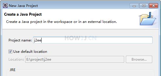 创建一个java项目j2ee
