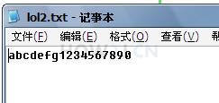 使用字符流把字符串写入到文件