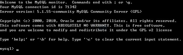 首先使用当前的密码进入mysql